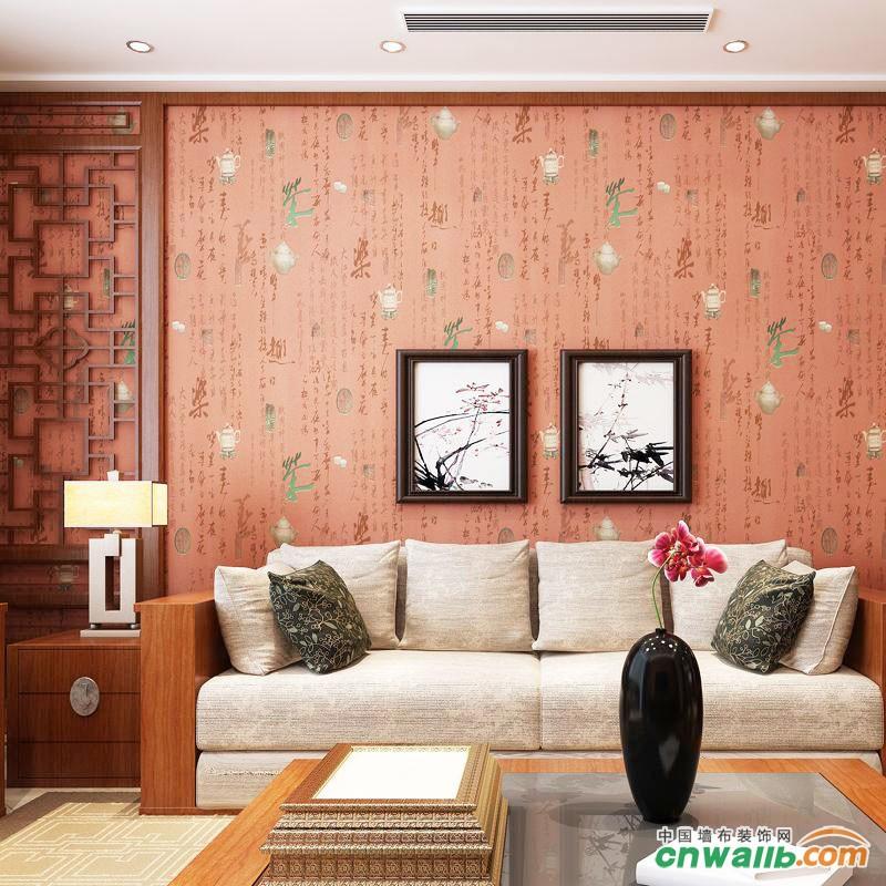 12张沙发背景墙壁纸效果图,简单时尚