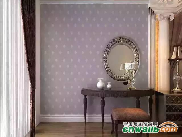 奢华欧式墙布贴图