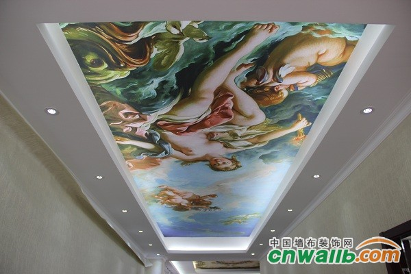 漂亮的吊顶壁画
