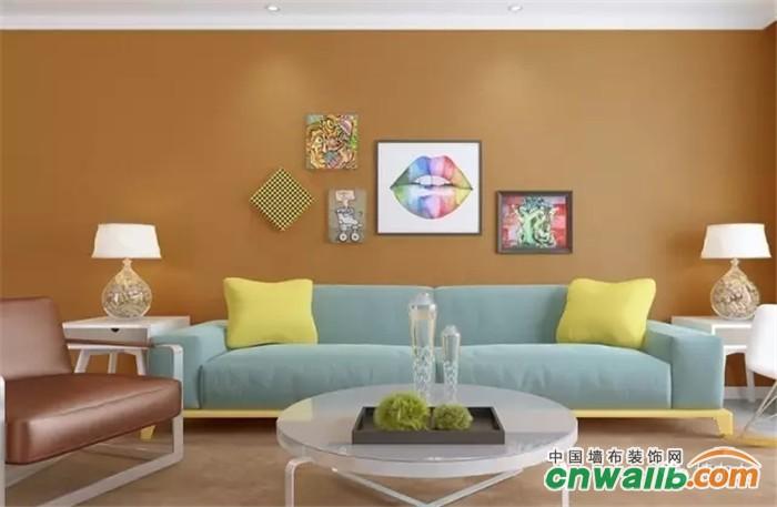 墙布地板窗帘是软装三兄弟,三样和谐家装美出新高度