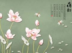 锦尚帛美产品效果图-蚕丝手绘背景系列