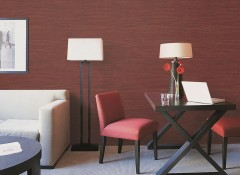 可罗雅无缝墙布现代风格装修效果图