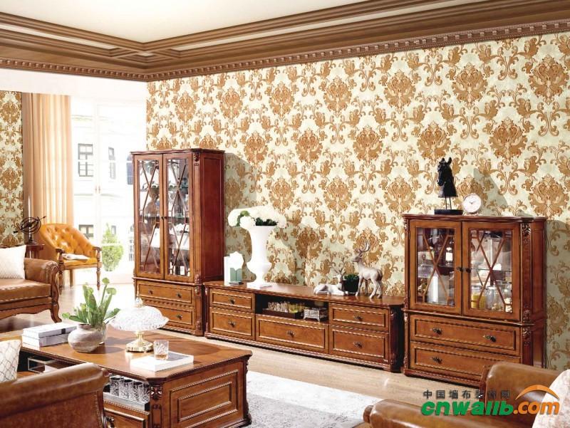 沐丝墙布高端-享-绣系列产品装修效果图