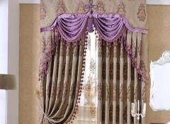 古典美式风格窗帘效果图 窗帘最新装修效果图