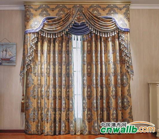 欧式豪华风格窗帘装修效果图 窗帘装修效果图欣赏