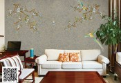 家装铺贴墙布有什么优点? (1223播放)