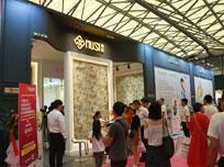 """上海墙布展:看沐丝国际演绎""""布""""一样的奇迹"""