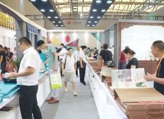 上海墙布展:融汇中西 冠绝古今,天衣无缝墙布用实力征服你!——展会现场