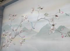 上海墙布展:融汇中西 冠绝古今,天衣无缝墙布用实力征服你!——展会新品 (6)