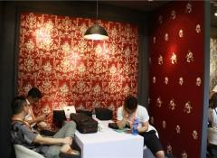 上海墙布展:锦尚帛美演绎墙布美学,这才叫真材实料—展会新品