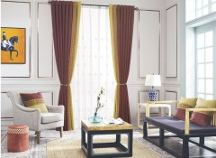 天衣无缝成品窗帘安装效果图 窗帘装修效果图 (9)