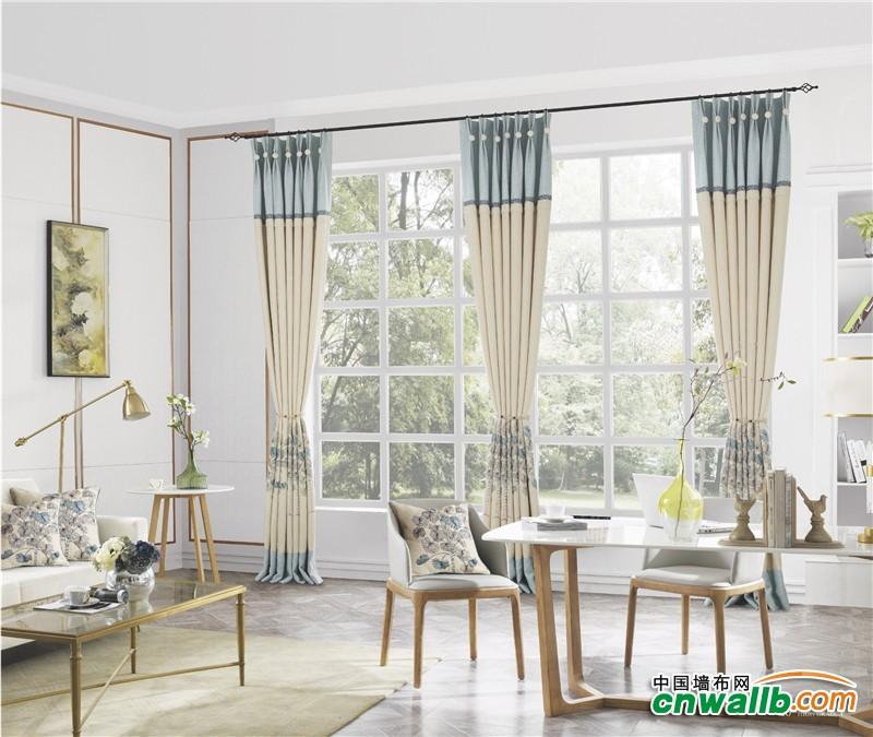 天衣无缝成品窗帘安装效果图 窗帘装修效果图