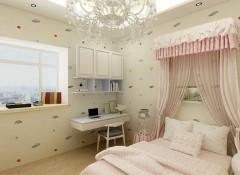 壁尚墙布刺绣系列卧室装修效果图