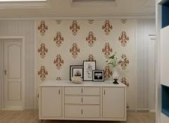 壁尚无缝墙布高档植绒系列装修效果图 (7)