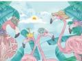 格莱美新品发布!《多莱咪》系列墙布童趣十足