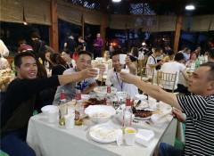 2018科布斯墙布拓展培训大会重庆站——签到及晚宴