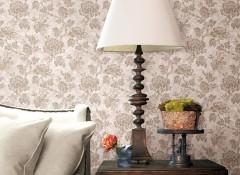汇明提花墙布美式风格装修图赏析