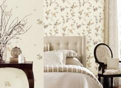 数款超美刺绣墙布,你家墙壁脱光了么?