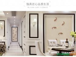 艾是中式简约定制八鱼图刺绣 60106-01