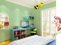 丽琪峻墙布卧室装修效果图,卧室欧式风装修案例