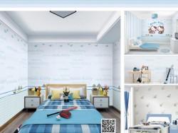 雅绣墙面儿童房系列产品