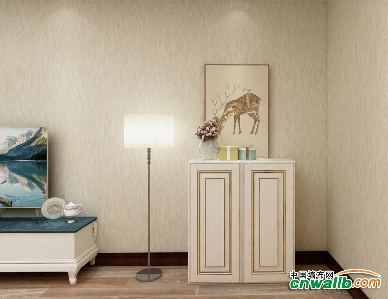 蒙特罗墙布现代风格装修效果图,背景墙布装修实例