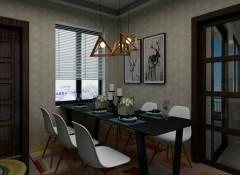 艾是餐厅墙布装修效果图赏析,餐厅用墙布装修案例