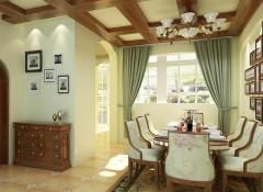 田园风格客厅墙布装修效果图,朵薇拉客厅墙布装修图 (6)