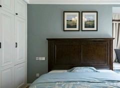 美式风格墙布装修效果图,朵薇拉美式墙布装修案例