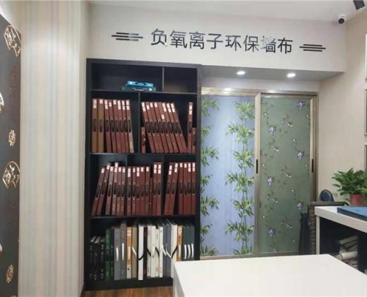 蝶绣刺绣墙布重庆市云阳县专卖店