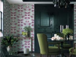 丽彩壁纸植物基调墙纸 LL-8003