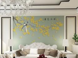 局部绣壁画《春色满园ysl4218》