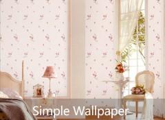 意盛豪庭墙布浪漫田园背景墙装修效果图