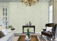 鑫丽阁墙布水刺无纺底美式法式无缝墙布效果图