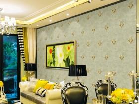 雅逸居墙布欧式风格装修图,欧式客餐厅卧室装修图