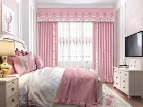 七特丽窗帘之浪漫粉红系列产品装修效果图