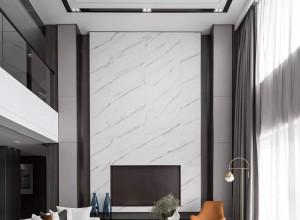 博丽雅无缝墙布现代简约风,高级灰+橙色彰显时尚与奢华