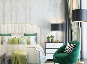 朵薇拉无缝墙布客厅背景墙装修效果图,玄关背景墙图