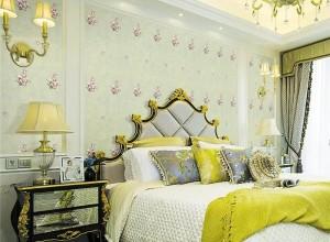 雅逸居墙布北欧风卧室装修图,时尚潮流的简约风