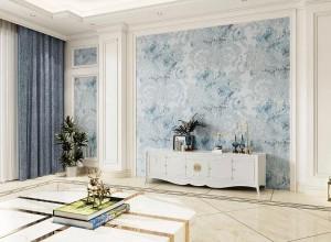 天洋墙布欧式风格装修图,高端别墅欧式风格装修