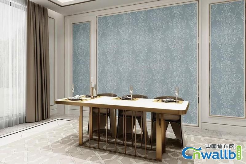 欧式风格,因其给人的高贵,奢华,大气等感觉,在现代别墅装修、会所装修和酒店装修的工程项目中成为主流;因其能够表现出浪漫、优雅的气质和品质生活的调性,在一般住宅公寓装修中,也备受亲睐…… 天洋墙布43#系列墙布产品正是在此背景下应运而生。作为一款定位于高端别墅欧式风格装修的墙布产品。