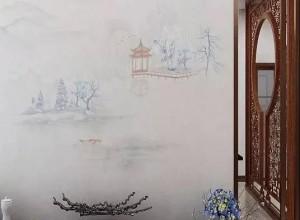 欧仕莱墙布中式背景墙装修图片,魅力爆棚,美出新高度!
