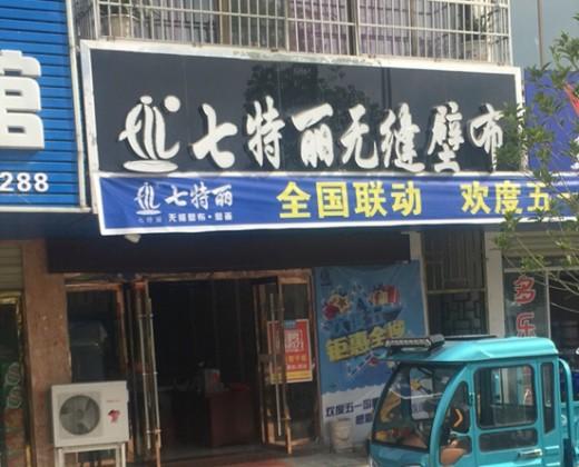七特丽墙布安徽安庆太湖县专卖店