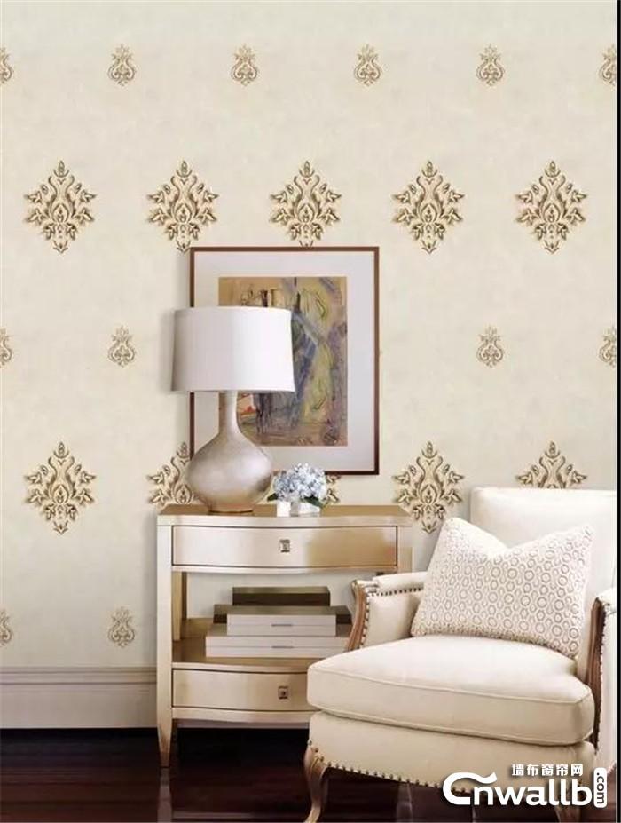 喜欢精美奢华的装饰风格,不妨试试科布斯这几款欧式墙布