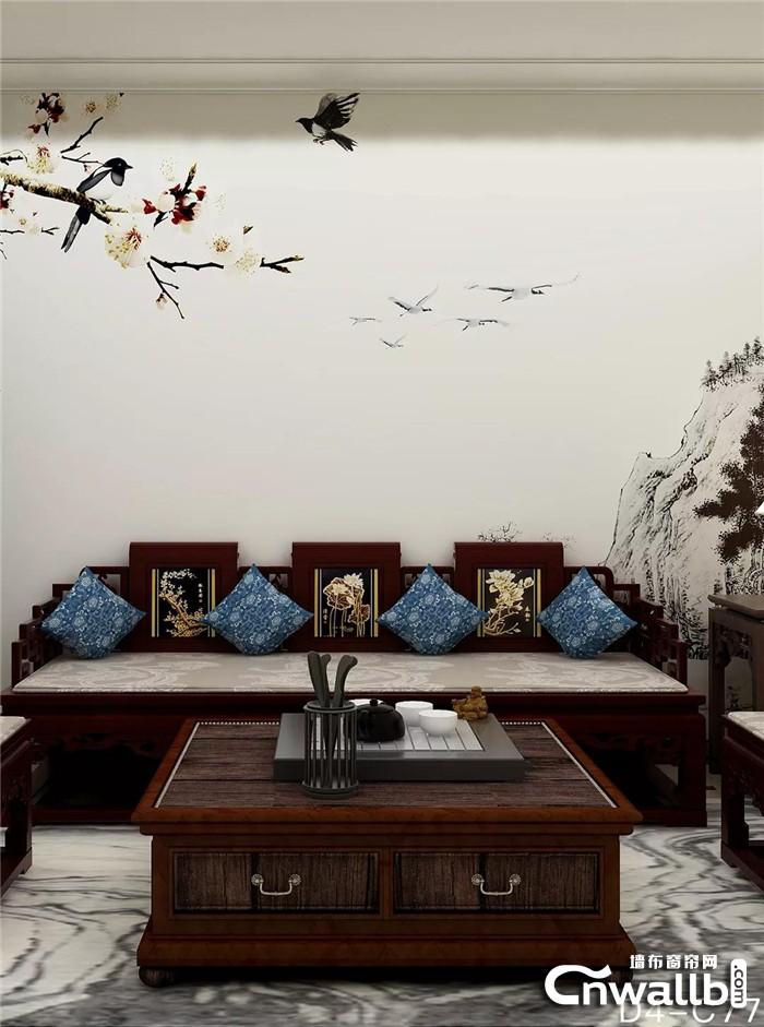 雅诗澜极简墙布赏析:缔造惊艳的朴素之美