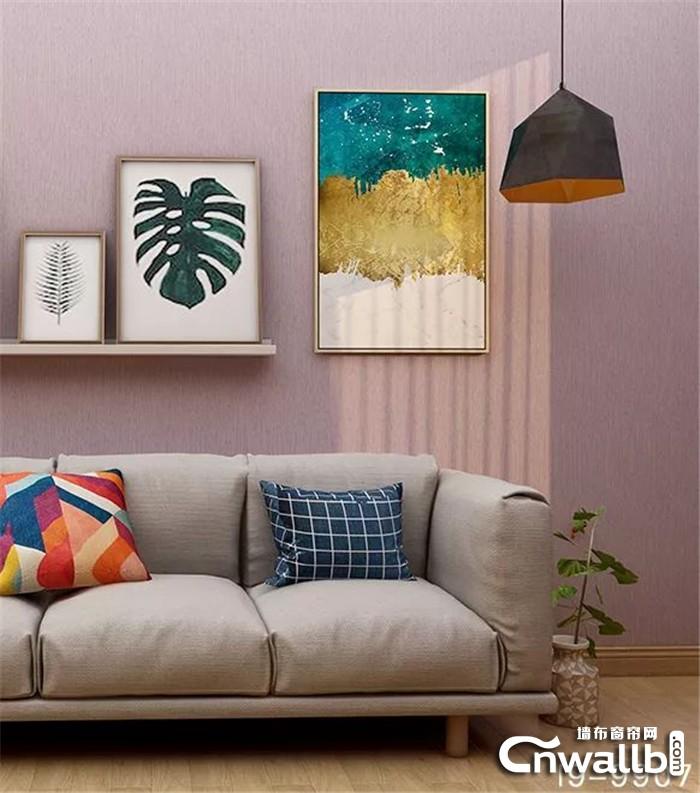 雅诗澜缤纷水果色墙布,带给你一整年的美味感