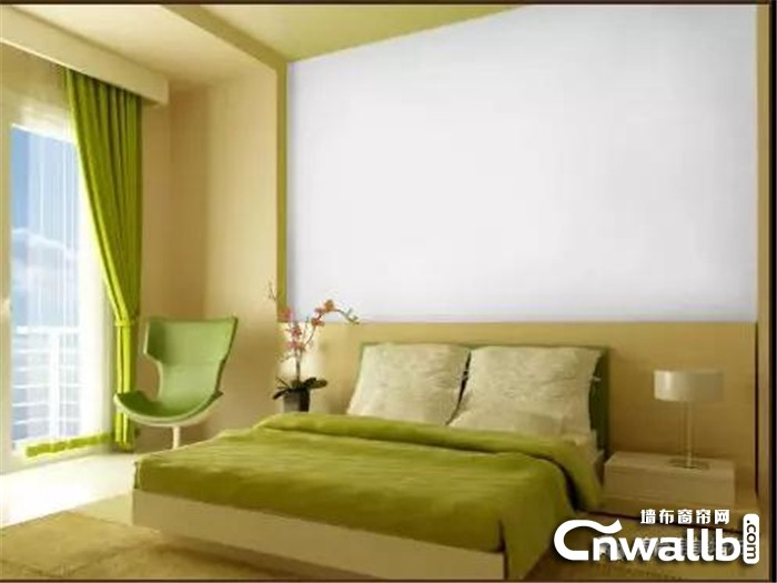 巧用锦尚帛美墙布颜色搭配,让卧室更适合休息!