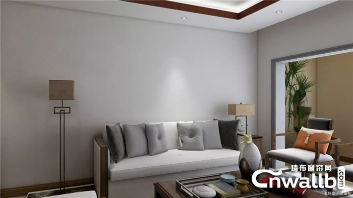 丽绣灰色系墙布,简约柔和的美,你喜欢吗?
