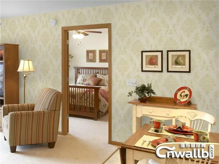 锦尚帛美墙布 靓丽你的家 更守护你的家!