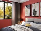 奔放的红色 时尚的利器,莺牌墙布营造出欢聚的温暖时光! (5834播放)
